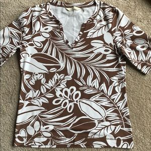 Tommy Bahama top and skirt